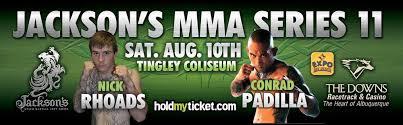 Jacksons MMA 11 pt1