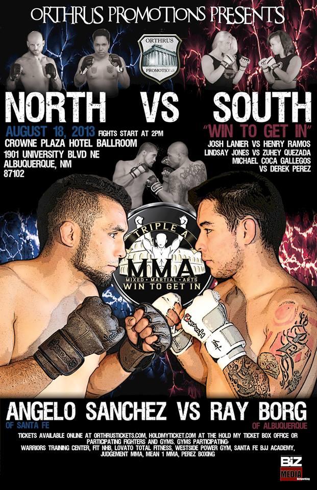 north vs, south