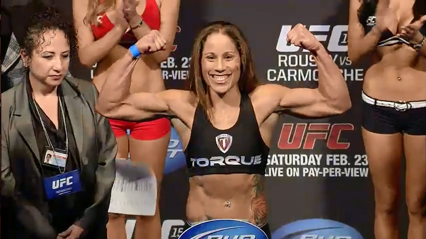carmouche vs davis at ufc fight for the troops 3
