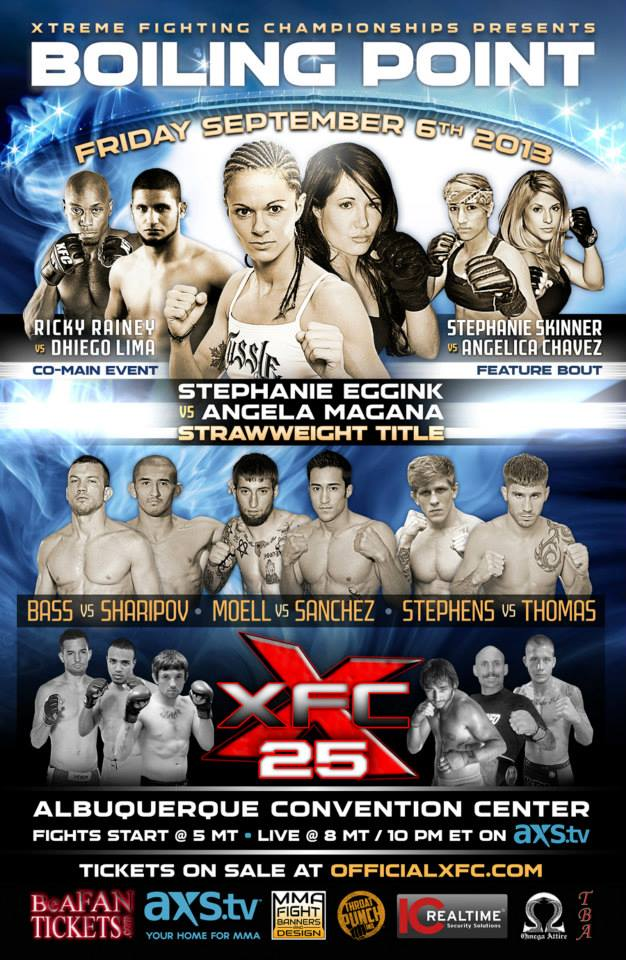 XFC 25 Poster