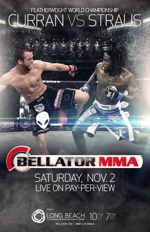 Bellator-PPV-Curran-vs-Straus-Poster