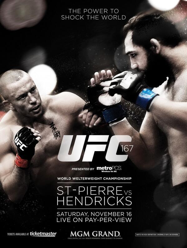 UFC-167-poster