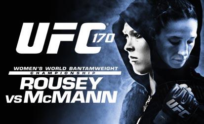 UFC 170: Rousey vs McMann – Live Results