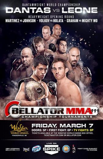 Bellator_111_Dantas_vs._Leone_Poster