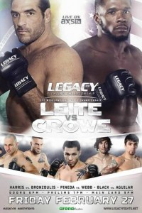 Legacy_FC_39_Leite_vs._Crowe_Poster