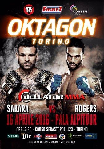 Bellator_Italy_Sakara_vs._Rogers_Poster
