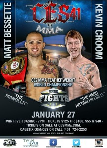Ces mma january 8th celebrity