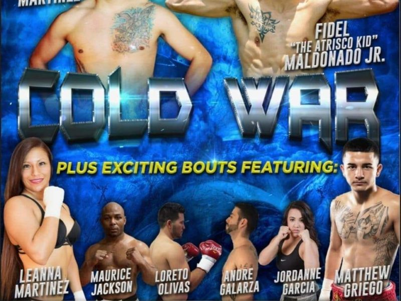 Cold War 5 weigh-in Results