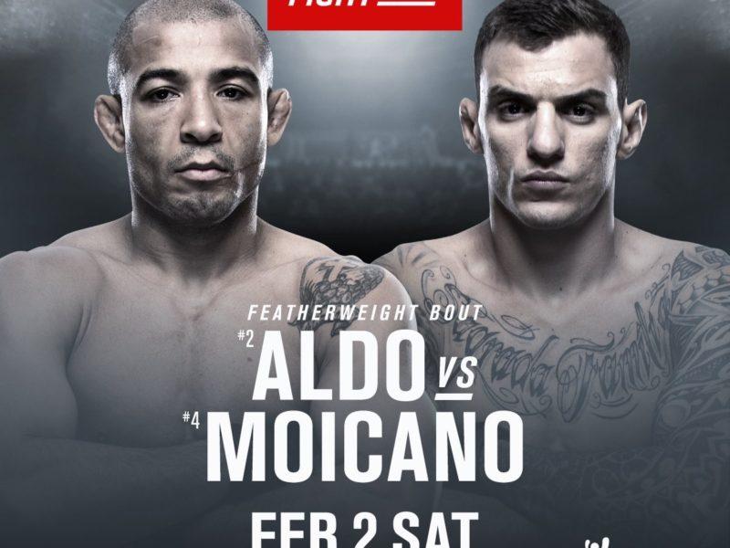 Aldo & Moicano to tangle in February
