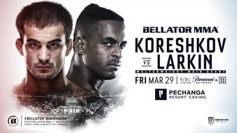 Koreshkov vs. Larkin headlines Bellator 220