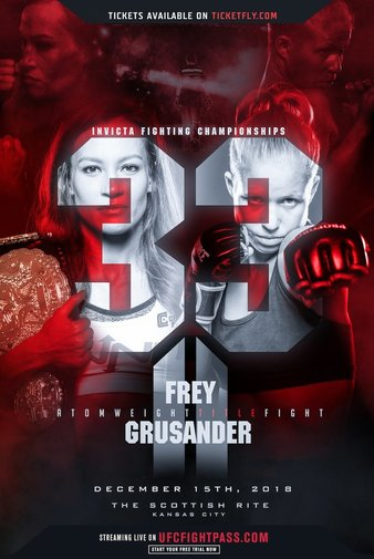 Invicta FC 33 Quick Results