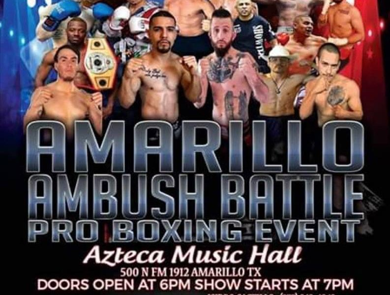 9 fights make up finalized fight card or Amarillo Ambush Battle
