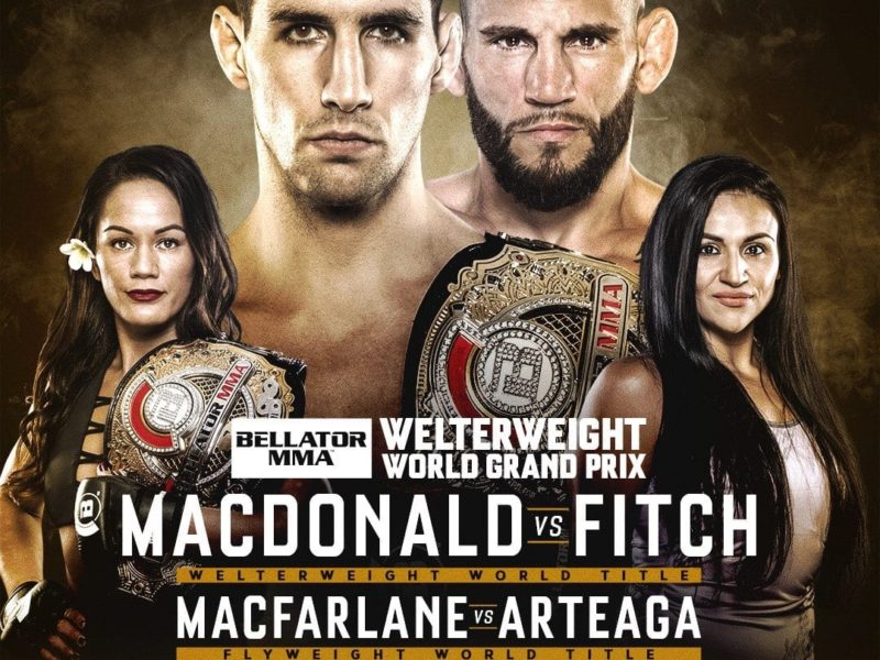 Two Title Bouts on Tap for Bellator's April 27 Event
