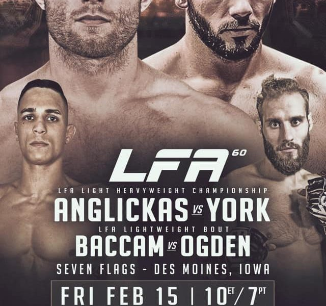 New Light Heavyweight Champion to be Crowned at LFA 60