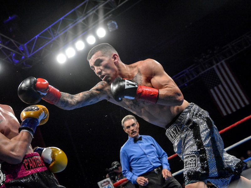 Jason Sanchez heads to Texas for next Tussle