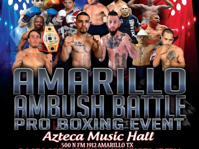 13 Fights on Tap for Amarillo Ambush Battle