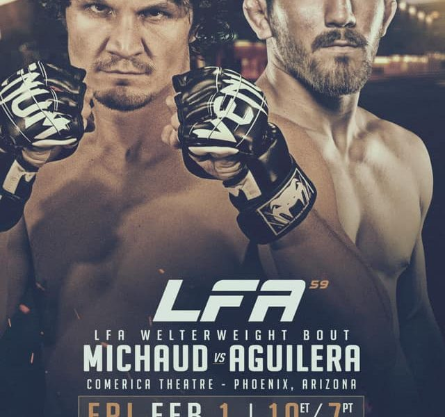 "Christian Aguilera: ""Expects A Violent Violent Fight at LFA 59"""