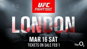 Oezdemir vs. Reyes tops UFC's March Event in London