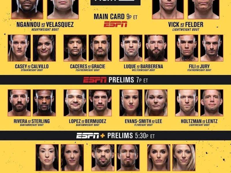 UFC on ESPN 1 Results