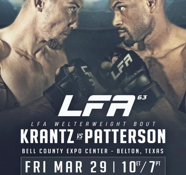 Belton Texas to host LFA 63