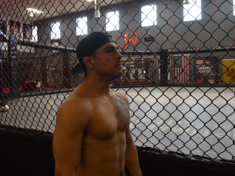 "Chris Rojas: ""Win this Fight and Turn Pro:"