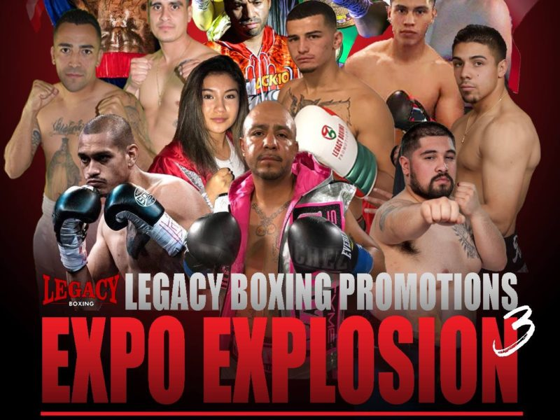 Expo Explosion 3 Weigh-in Results, 4 Fighters Over