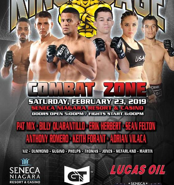 After troubles finding an Opponent Cynthia Arceo is ready to do her thing at KOTC Combat Zone