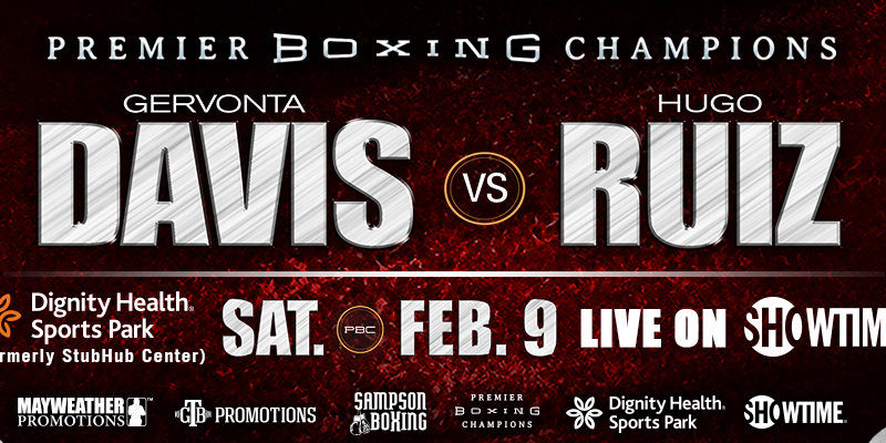Davis vs. Ruiz Weigh-in Results