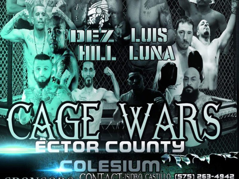 "Desmond Hill vs. Luis Luna Headlines ""Cage Wars"" April 13"