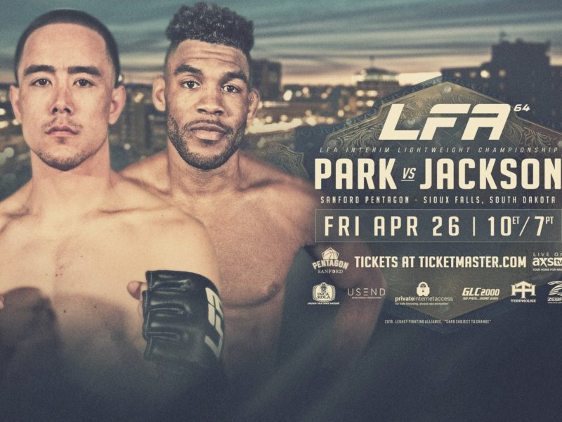 Harvey Park vs Demarques. Jackson Interim Lightweight Title bout Headlines LFA 64