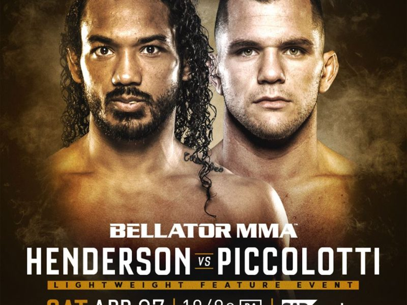 Bellator 220 Adds Henderson vs. Piccolotti & Davis vs. McGeary