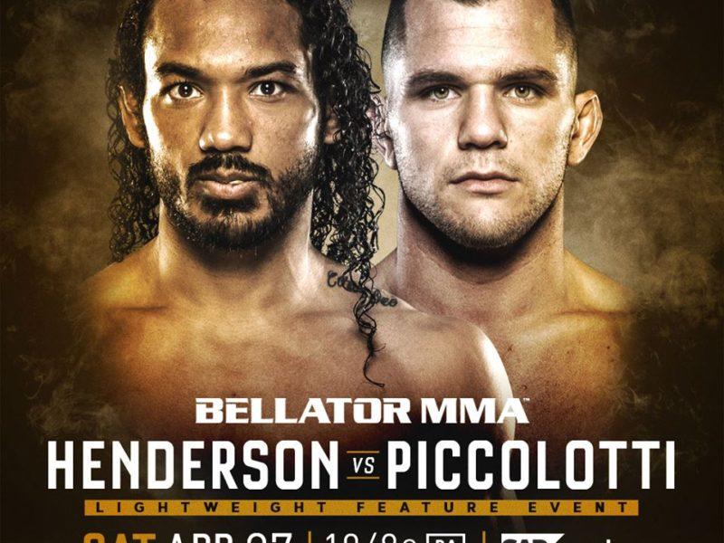 Bellator 220 Adds Henderson vs. Piccolotti & Davis vs. McGeary