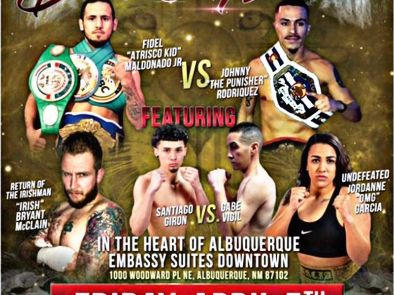 """Holmes Boxing Brings """"Duke City Lions"""" to Embassy Suites"""