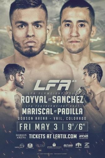 Royval vs. Sanchez Headlines LFA 65