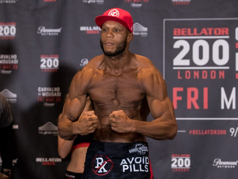 "Linton Vassell: (Heavyweight) ""This is where I should Have been for a long time"""