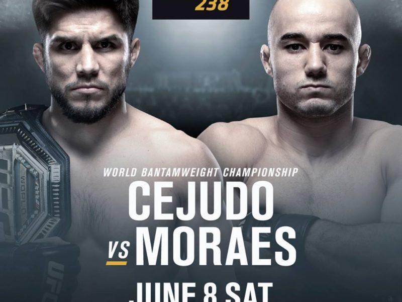 Bantamweight Title Bout Headlines UFC 238