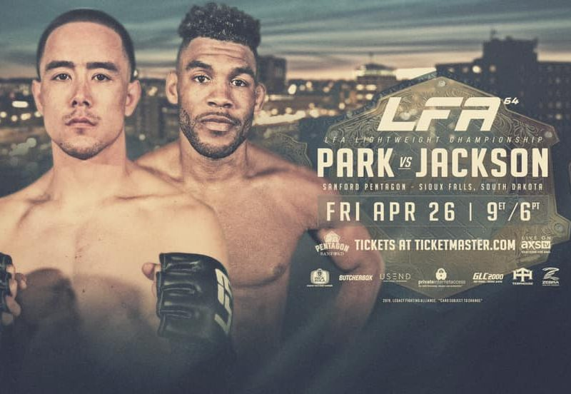 Park vs. Jackson now for Undisputed Lightweight title at LFA 64