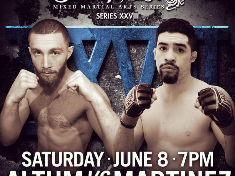 Southwest MMA Series 28 headlined by Martinez vs. Altum