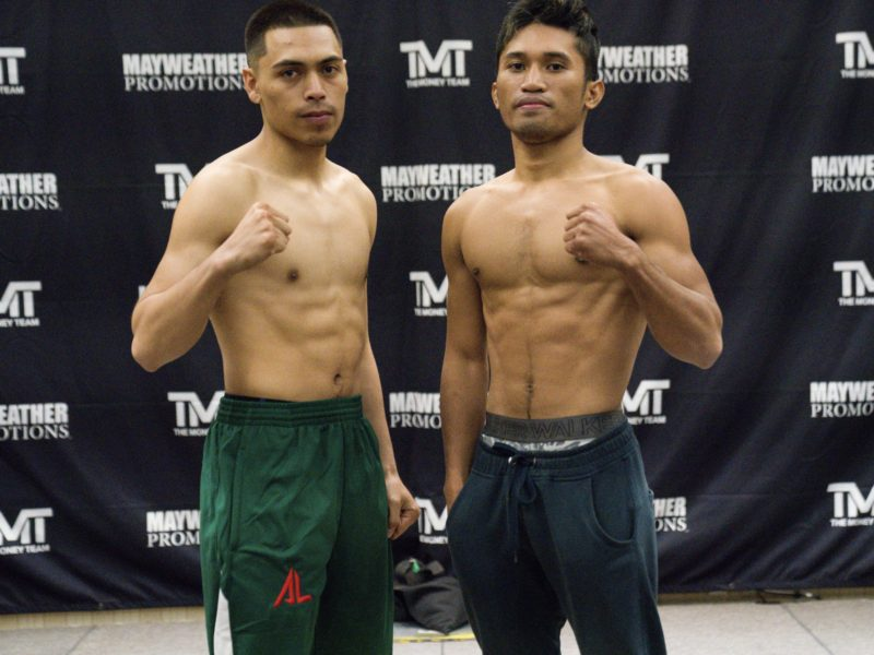 "Sin City Showdown ""Leo vs. Tabanao"" Weigh-in Results"