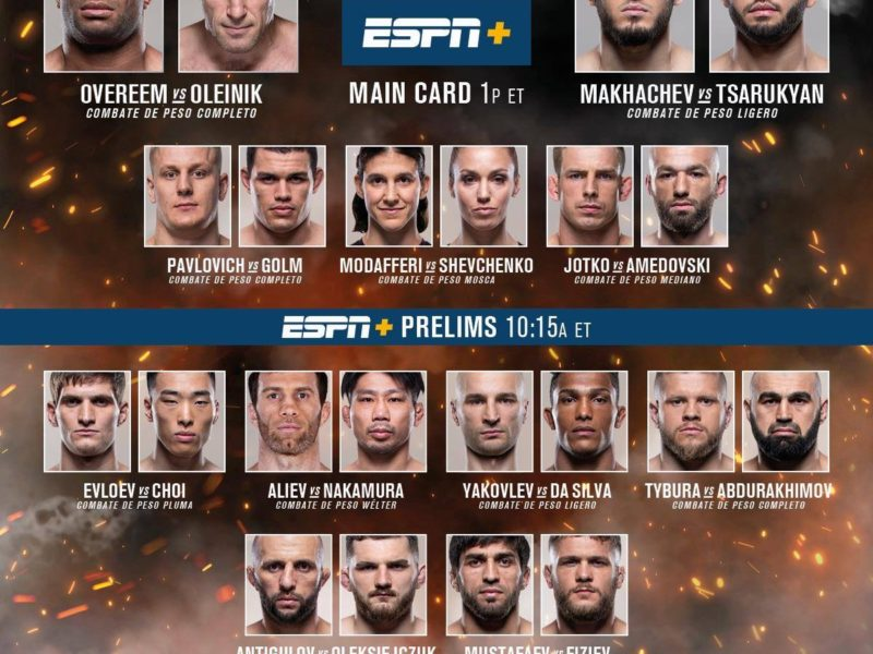 UFC Fight Night 149 Quick Results