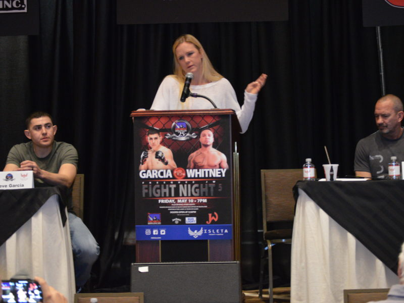 Holly Holm Reflects on the Journey with Fresquez Productions & Comments on facing Amanda Nunes
