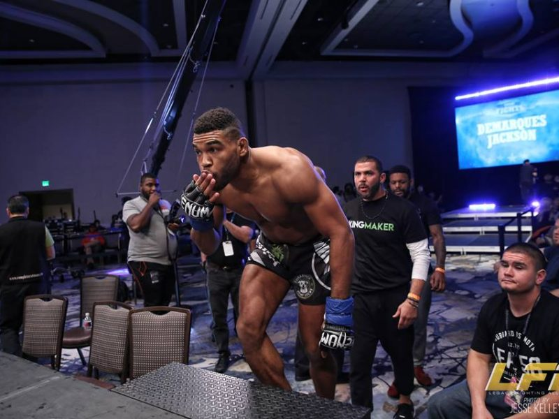 LFA 64's Demarques Jackson get the belt & We'll see what Happens