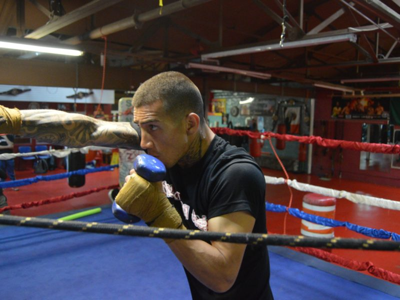 """Jason Sanchez -""""This is what I train for, a Title fight"""""""