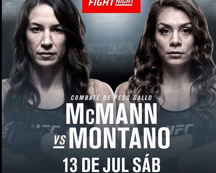 Quartet of additions to the UFC's trip to Sacramento, including Mcmann vs. Montano