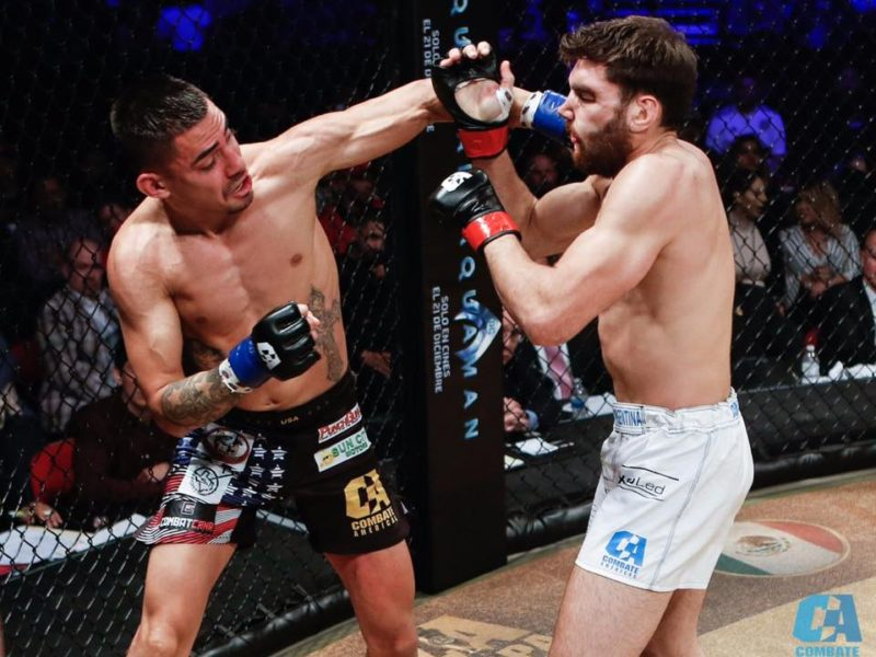 Quintana-Canetti 2 will crown First Combate Americas Featherweight Champion