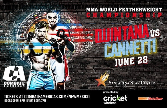 Brenda Gonzales vs. Marili Fant among new additions to Combate Americas Debut in New Mexico