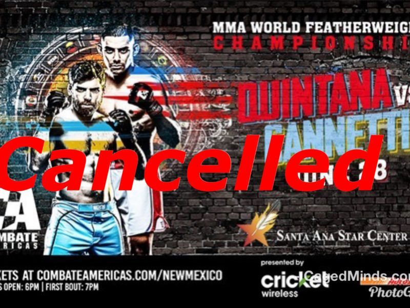 "Combate Americas ""World Championship"" event Cancelled"