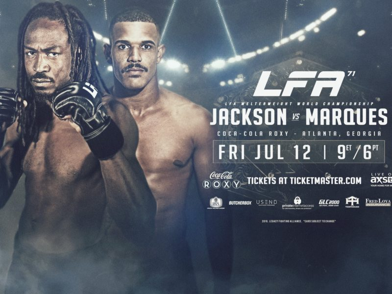 Battle for vacant Welterweight titles tops LFA 71