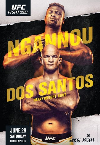 UFC Fight Night Ngannou vs. Dos Santos Results, Ngannou get the job done in 1