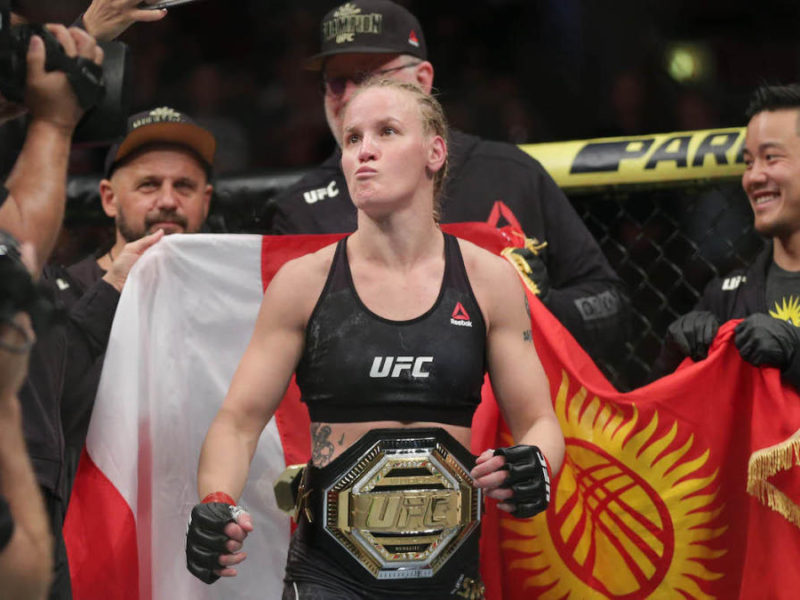 Shevchenko defends Flyweight Title Against Andrade at UFC 261